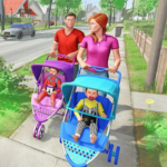 Virtual Mother New Baby Twins Family Simulator 2.1.8 (crack download) APK MOD