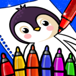 Happy Coloring Book Learn Paint : Coloring Games 0.13 (crack download) APK Pro